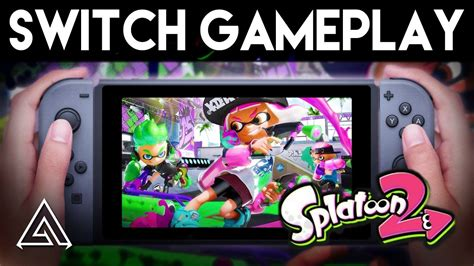 splatoon  nintendo switch gameplay walkthrough youtube