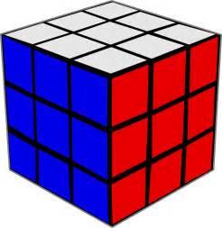 Rubik's Cube Clip Art
