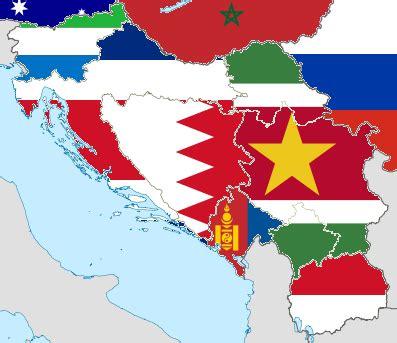 flag map  yugoslavia confused domains  hosmich