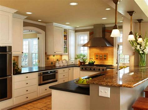 Kitchen Color Schemes With White Cabinets  Home Combo