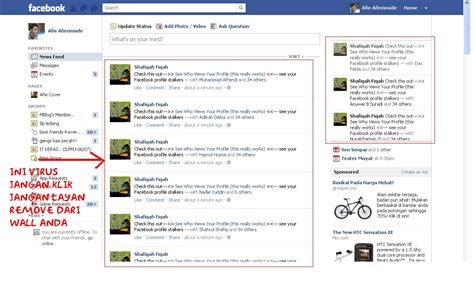 Virus Spam Melanda Facebook