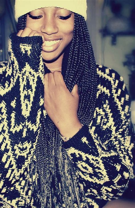 Long Box Braids Ideas   Hairstyles 2017, Hair Colors and