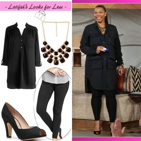 Queen Latifahu0026#39;s Look for Less May 2 | Queenu0026#39;s Closet | Pinterest | Queen latifah For less and ...