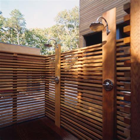 Duschtrennwand Selber Bauen by Sichtschutz F 252 R Gartendusche 35 Tolle Beispiele