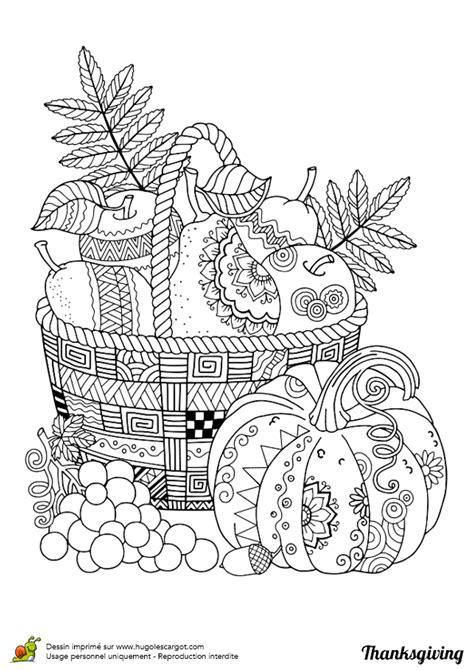 recette de cuisine en anglais dessin à colorier pour thanksgiving panier de fruits et