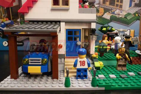 lego creator  hillside house  brick city