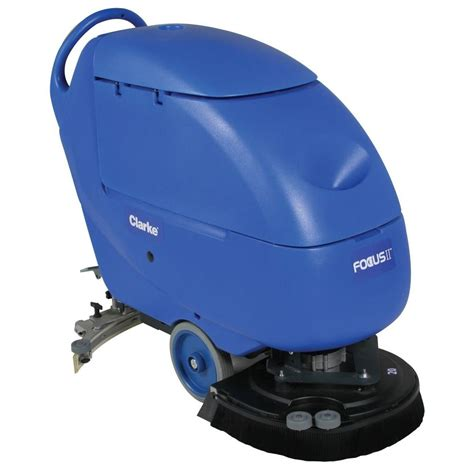 Auto Floor Scrubbers Commercial by Clarke Focus Ii L20 Disc Commercial Walk Automatic