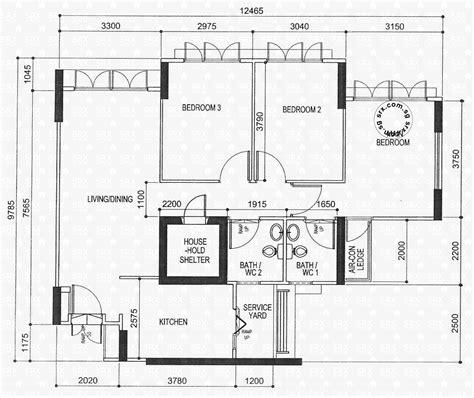 floor plans  yishun avenue  hdb details srx property