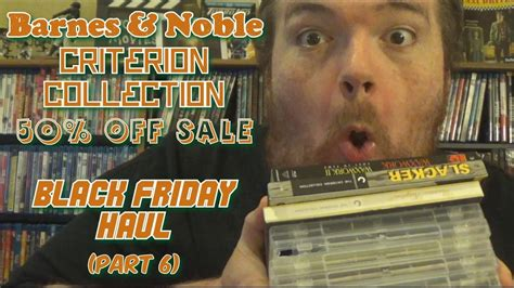 barnes and noble free friday barnes and noble criterion collection 50 black
