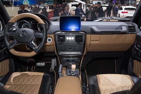 Read the review and see photos at car and driver. Mercedes-Maybach G650 Landaulet is too much in so many ...