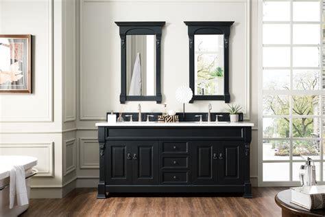 brookfield antique black double bathroom vanity