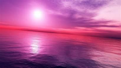 Pink Sunset Wallpapers Beach Definition Widescreen 1080