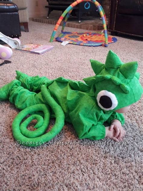 cutest baby pascal chameleon toddler costume