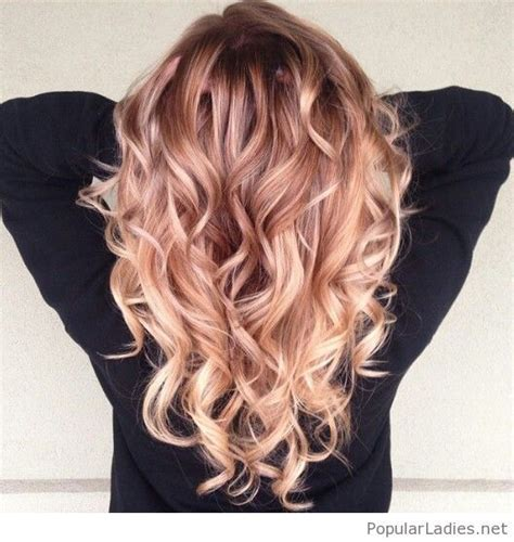 amazing strawberry blonde ombre hair color hair