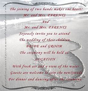 beach theme wedding quotes quotesgram With wedding invitation msg quotes