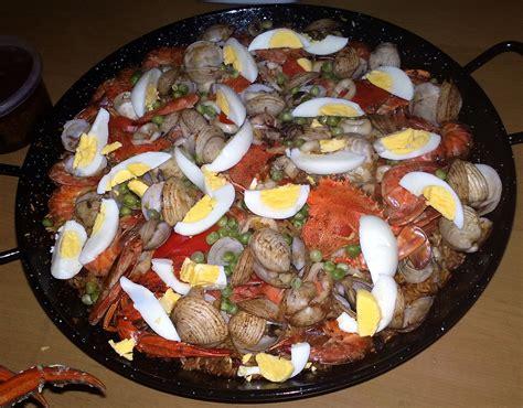 cuisine paella seafood paella kusina kusina