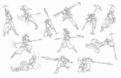 Poses Action Drawing Pose Reference Character Kyrenia