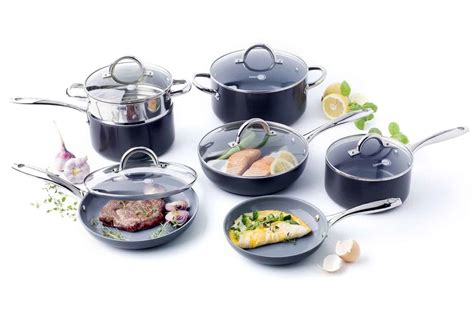 ceramic cookware pans stone frying lima
