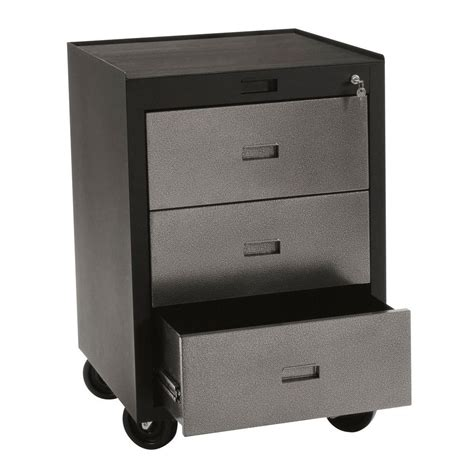 edsal metal storage cabinets edsal 30 in h x 23 in w x 22 in d 3 drawer steel