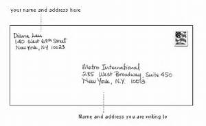 how to properly address a letter