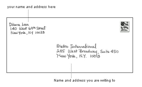 how to address an envelope how to properly address an envelope