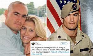 Widow of Pat Tillman defends players taking a knee | Daily ...