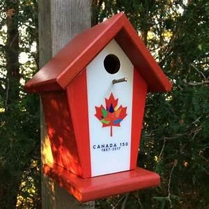 Canada, 150, Birdhouse