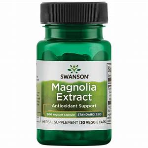 Magnolia Bark Extract Supplement - 90  Honokiol