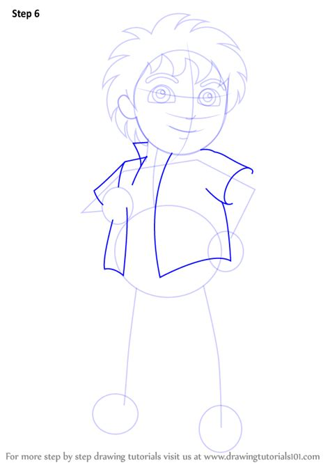 Learn How To Draw Diego From Dora The Explorer Dora The