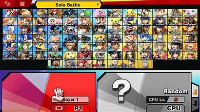Character Select Smash Bros Ultimate Dlc Super