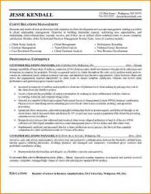 resume format for customer service executive professional resume for service manager