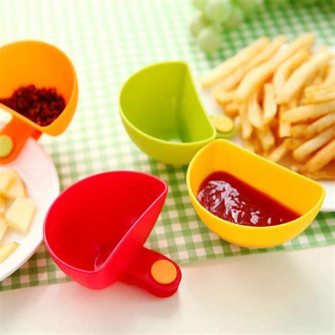 Salad Sauce Ketchup Jam Dip Clip Cup Bowls for Plates ...