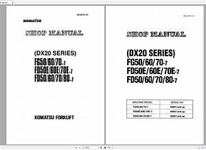 Komatsu Forklift Shop Manual Pdf Dvd