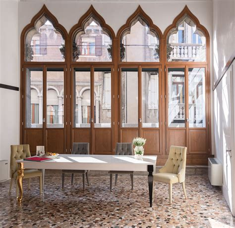 contemporary apartment   gothic venice palazzo