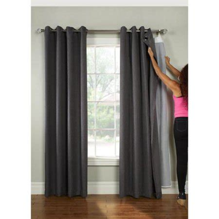 blackout curtains walmart commonwealth universal blackout curtain liner walmart