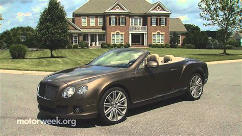 road test  bentley continental gt speed convertible