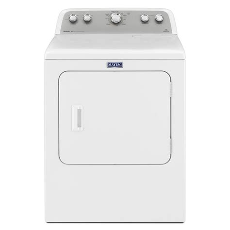 gas or electric dryer mgdx655dw maytag bravos 7 0 cu ft gas dryer white on white hudson s appliance center