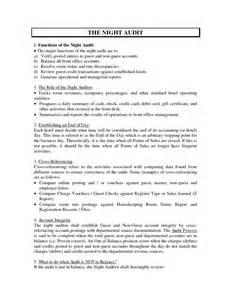 Help Desk Resume Summary by Night Auditor Hotel Resume Sales Auditor Lewesmr