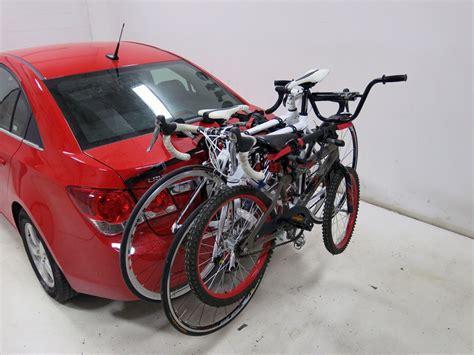 trunk bike rack yakima kingjoe 3 bike trunk mounted rack yakima trunk bike