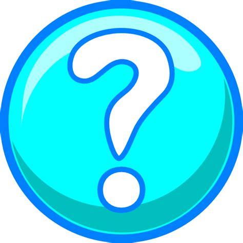 Clipart Question Blue Question Clip At Clker Vector Clip