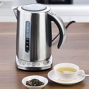 Wasserkocher Für Tee : wasserkocher mit temperatureinstellung f r verschiedene ~ Yasmunasinghe.com Haus und Dekorationen