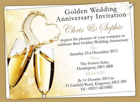 christian anniversary cards template wedding invitations golden anniversary invi with templates