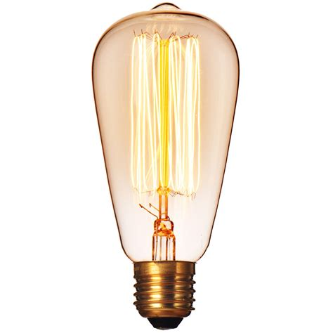 retro globe edison halogen bulb 40w 60w 110v 220v wall