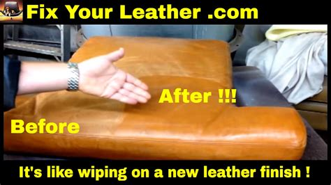 Buttery soft leather, deep and wide, it's a nappers dream. ANILINE LEATHER REPAIR Kit - Aniline Renew Dye - AMAZING ...