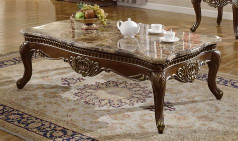 Free shipping on all textiles. Meridian Furniture 210 Catania Dark Cherry Finish Marble Top Coffee Table Set 3 Traditional ...