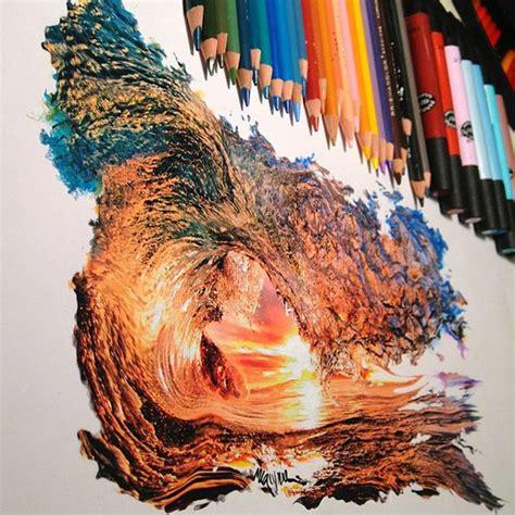Creative Color Pencil Art By Karla Mialynne  Incredible Snaps