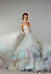 pastel wedding dress 2016 2017 b2b fashion With pastel wedding dresses