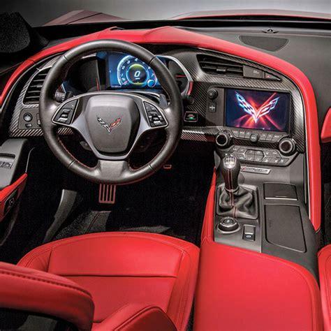 corvette stingray interior 2014 corvette stingray interior dash trim carbon fiber