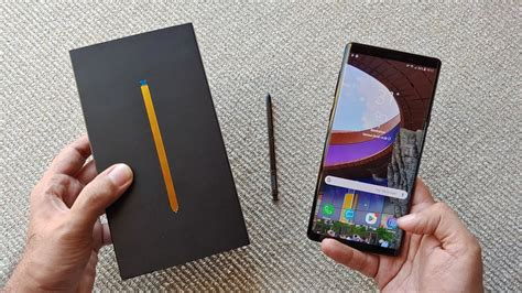samsung galaxy note 9 unboxing overview