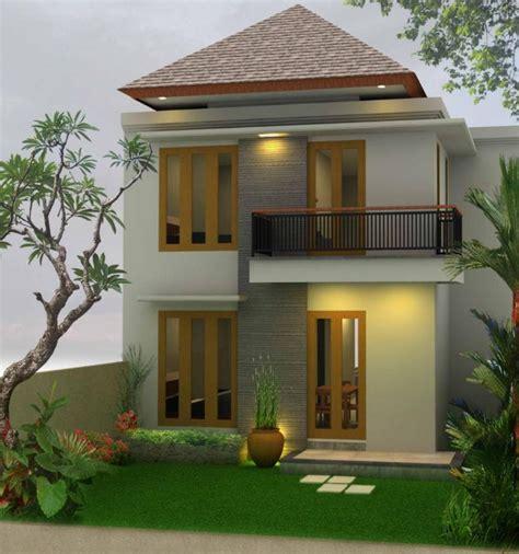 gambar rumah tingkat minimalis modern solusi lahan sempit